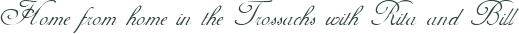 www.auchenlaichfarmhouse.co.uk Logo